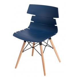 Krzesło Techno DSW niebieskie