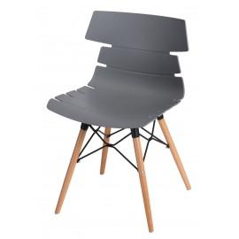 Krzesło Techno DSW szare