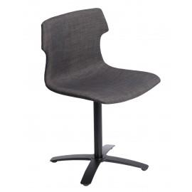 Krzesło Techno One tapicerowane brązowe