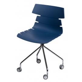 Krzesło Techno Roll niebieskie