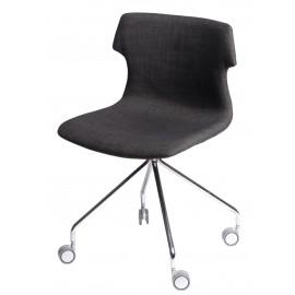 Krzesło Techno Roll tap. brązowe