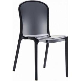 Krzesło Uma Black transparent