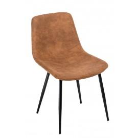 Krzesło Vigo brązowe jasne 1023