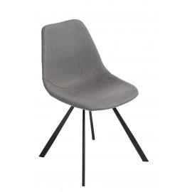 Krzesło Vincent M szara tkanina