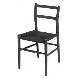 Krzesło Wiggy grafitowe