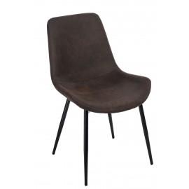 Krzesło Yoko brązowe ciemne 1025