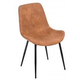 Krzesło Yoko brązowe jasne 1023