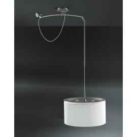 Lampa Finger Mov klosz beż śr. 45 cm