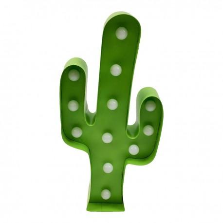 Lampka dekoracyjna Cactus zielona