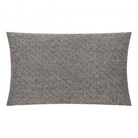 Poduszka Kenley biało-czarna 30x50