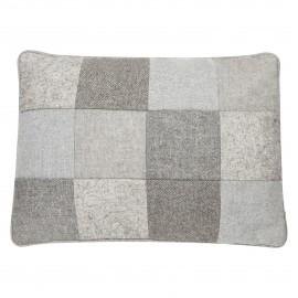 Poduszka Wool patchwork 89 35x50