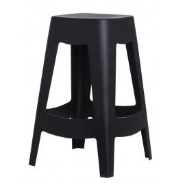 Stołek barowy Tower czarny