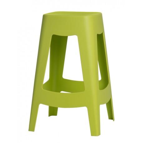 Stołek barowy Tower zielony