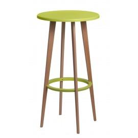 Stół barowy Lush zielony