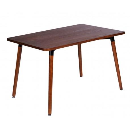 Stół Copine blat orzech 160x80 cm