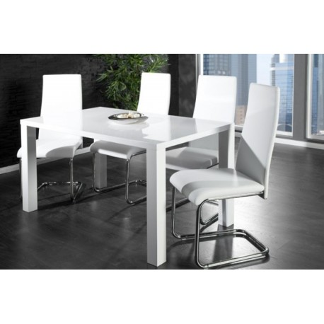 Stół Lucente 140x80 biały