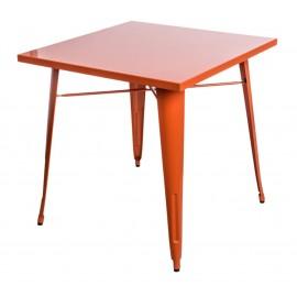 Stół Paris pomarańczowy