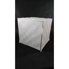 Szafka/stolik inps. OPTIC biała outlet