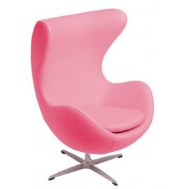 Fotel Jajo Soft wełna różowy XXX