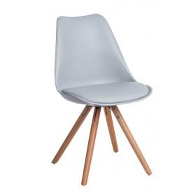 Krzesło Norden Star PP szare 1608