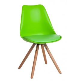Krzesło Norden Star PP zielone jas. 1640