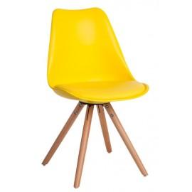 Krzesło Norden Star PP żółte 1610