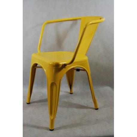 Krzesło Paris Arms żółte inspirowane Tol ix Outlet