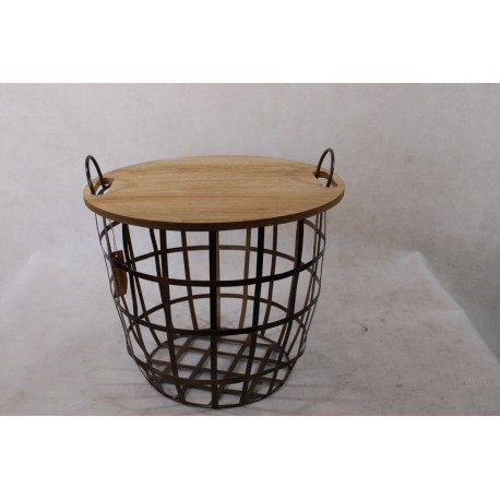 Stolik Cut outlet metal/drewno