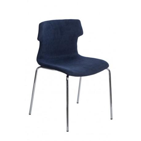 Krzesło Techno 4 Tap niebieskie 1817