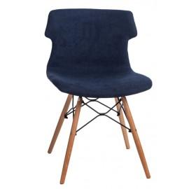 Krzesło Techno DSW Tap niebieskie 1817