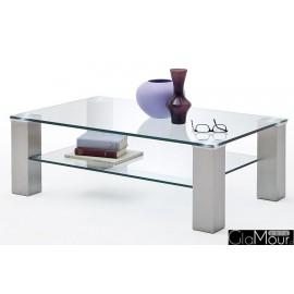 Elegancki stolik kawowy ASTA 110x70 58628Z