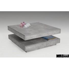 Stolik kawowy Ben laminat beton 004408