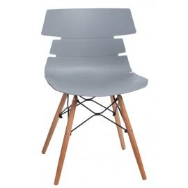 Krzesło Techno DSW PP szare