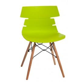 Krzesło Techno DSW PP zielone