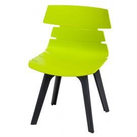 Krzesło Techno STD PP zielone