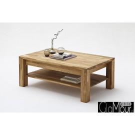 Stylowy prostokątny stolik kawowy MESSINA