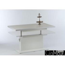 Elegancki stolik kawowy MONACO biały