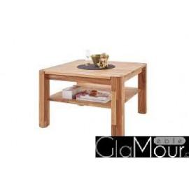 Elegancki stolik kawowy 80 cm dąb