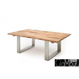 Elegancki prostokątny stolik kawowy SAGANO