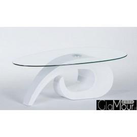 Nowoczesny stolik kawowy WALKER biały
