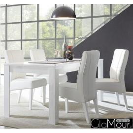 Stół DAMA 180x90cm w kolorze białym