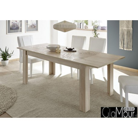 Elegancki stół rozkładany MIRO dąb sonoma 341583AL