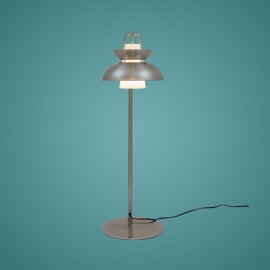 Lampa stojąca Scandinavian niklowana
