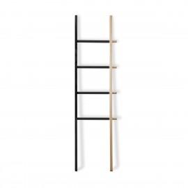 Wieszak drabina Hub Ladder czarny/natura