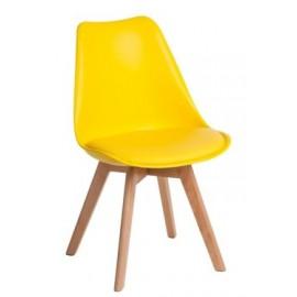 Krzesło Norden Cross żółte Outlet