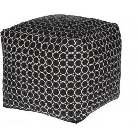 Pufa 40x40 Mone czarna