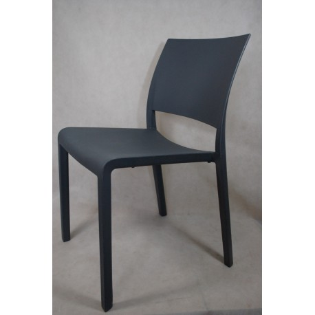 Krzesło Fiona ciemnoszare Outlet