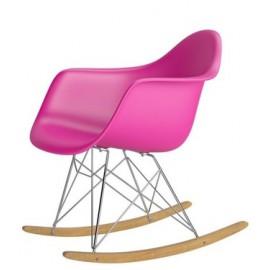 Krzesło P018 RR PP różowy insp. RAR Outlet