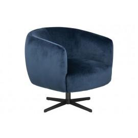 Fotel Auburn VIC niebieski