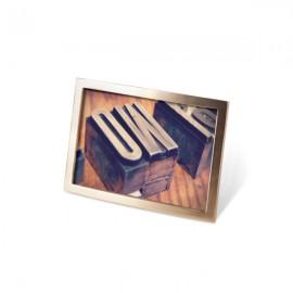 Ramka na zdjęcia Senza 10x15 Brass matow a
